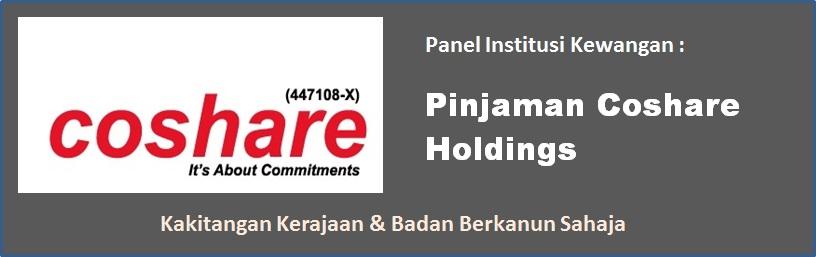pinjaman peribadi dari coshare holdings