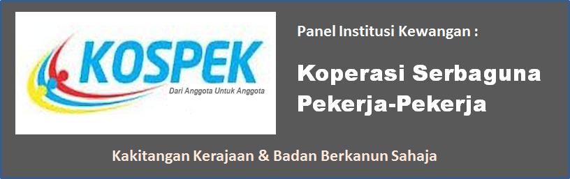 Pembiayaan peribadi islamik dari koperasi Kospek